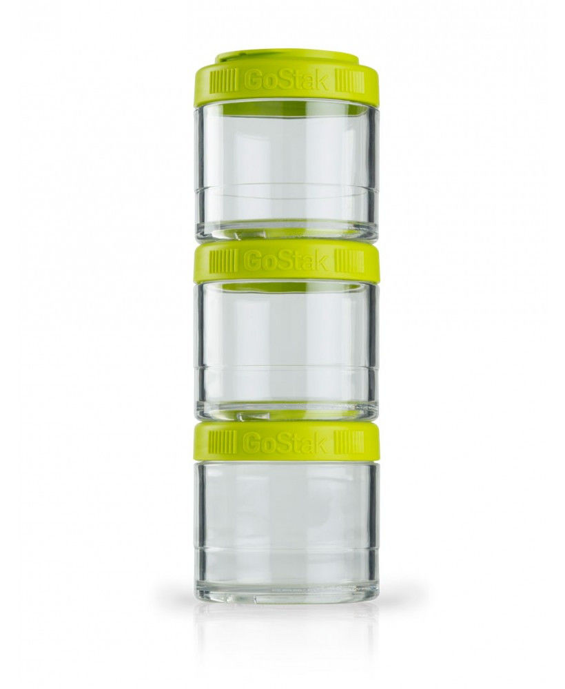 Контейнер спортивный BlenderBottle GoStak 3 Pak (ORIGINAL) Green