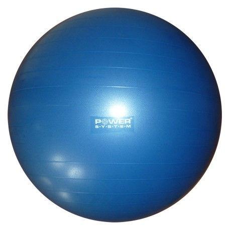 Мяч гимнастический POWER SYSTEM PS - 4012 65cm Синий фото видео изображение