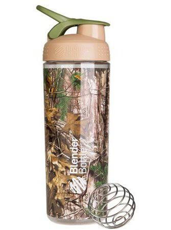 Шейкер спортивный BlenderBottle Signature Sleek 820ml (ORIGINAL) Real Tree фото видео изображение