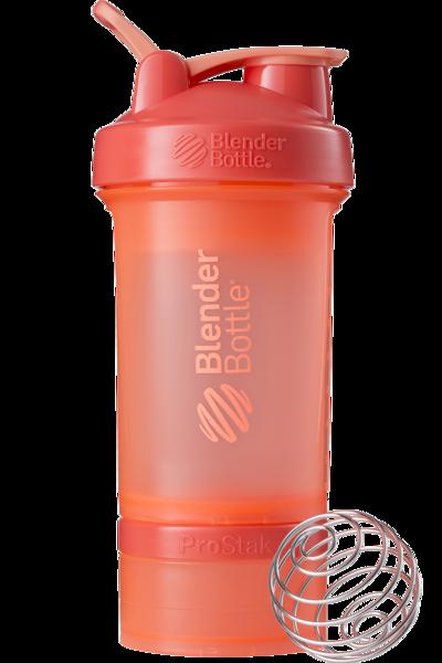 Купить Шейкер спортивный BlenderBottle ProStak 650ml (ORIGINAL) Coral цена