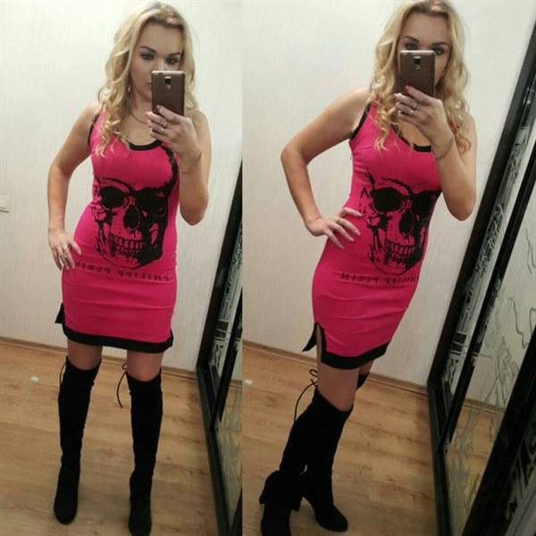 фото Платье розовое отзывы