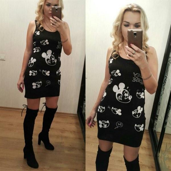 фото Модное, маленькое черное платье видео отзывы