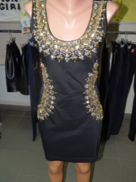 фото Изысканное черное платье видео отзывы