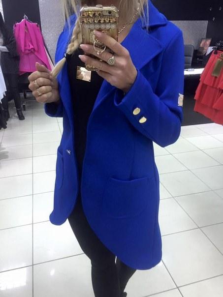 фото Синее пальтишко Paparazzi Fashion красивого дизайна видео отзывы