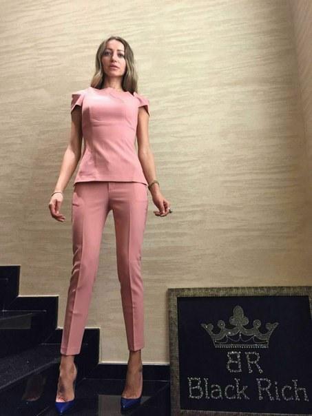фото Розовый женский костюм BLACK RICH видео отзывы