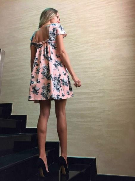 Цена Летнее розовое платье BLACK RICH