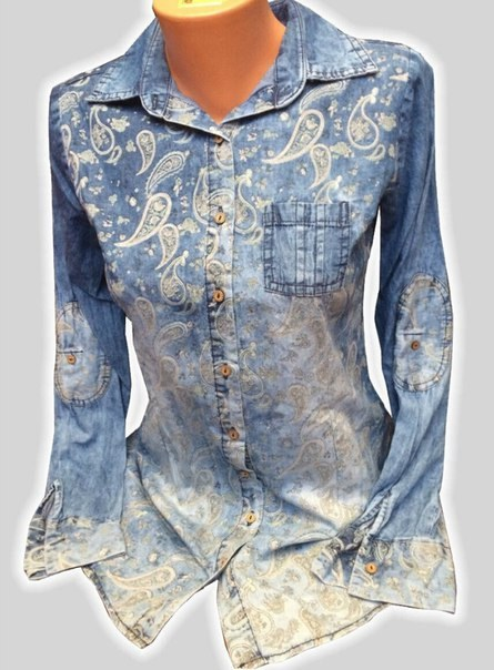 aced81c5dc2b607 Джинсовая рубашка женская купить Украина цена Киев Джинсовая рубашка ...