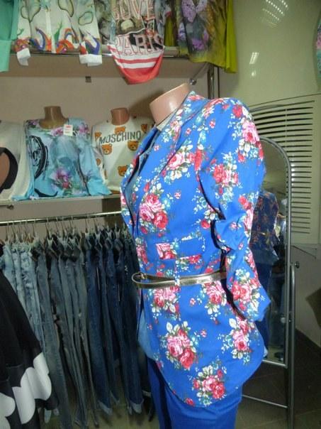 фото Модный летний пиджак синего цвета видео отзывы