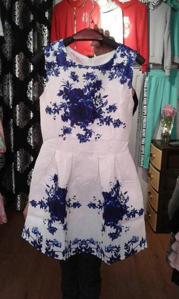 Купить Легкое весеннее платьице без рукава цена
