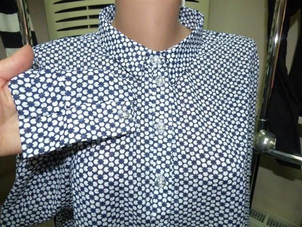 Цена Блуза легкая повседневная с длинным рукавом
