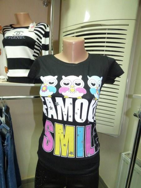 фото Прикольная летняя футболочка для самых стильных девушек видео отзывы