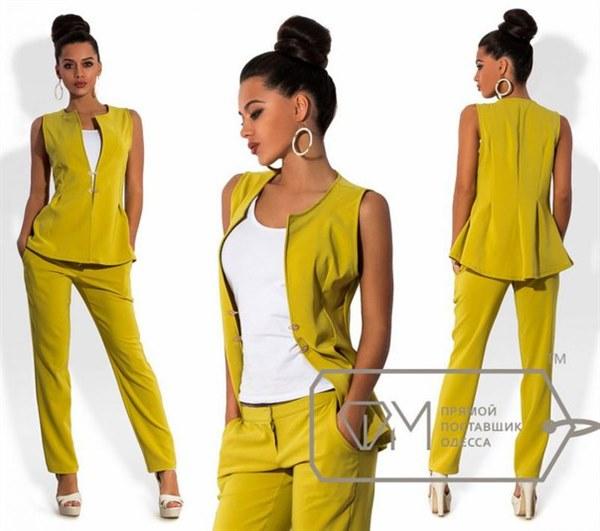 d5cc45d9e97552 Стильный женский брючный костюм купить Украина Киев недорого ...