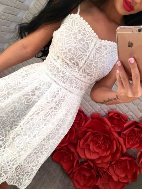 Купить Платье с открытой спинкой цена