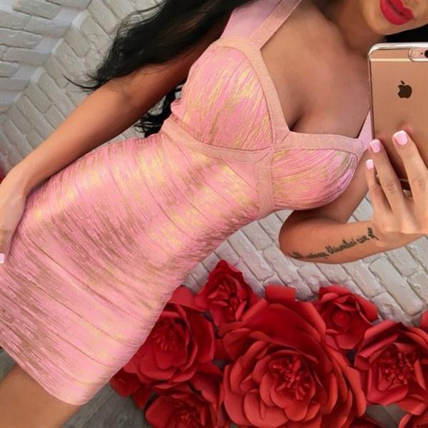 Цена Платье в стиле HERVE LEGER