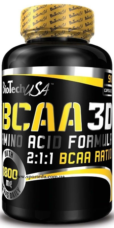 Цена BCAA 3D 90 капсул