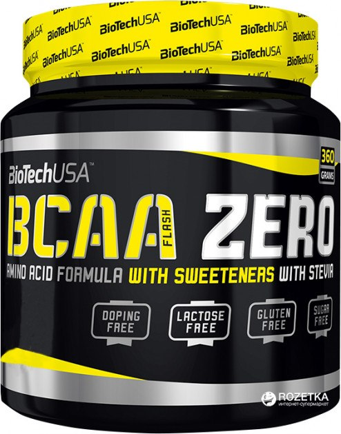 Цена BCAA flash Zero 360 гр