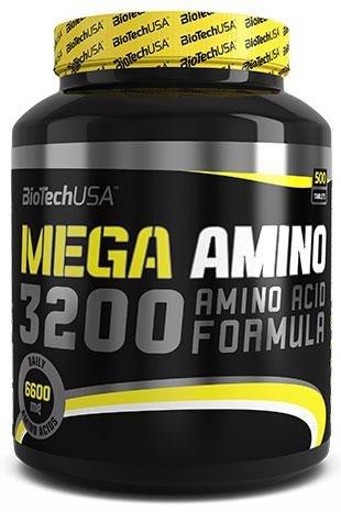 Цена Mega Amino 3200 500 табл