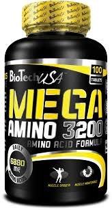 Mega Amino 3200 100 табл фото видео изображение
