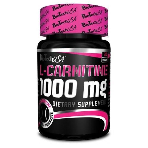 Цена L-carnitine 1000 Mg 30 табл