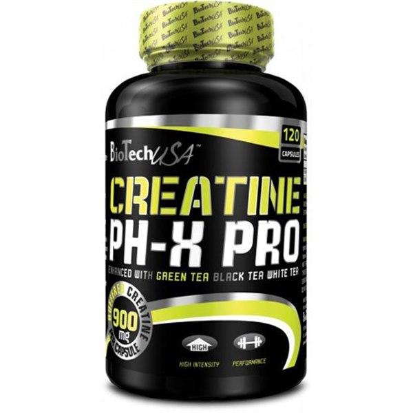 Creatine Phx Pro 120 caps фото видео изображение