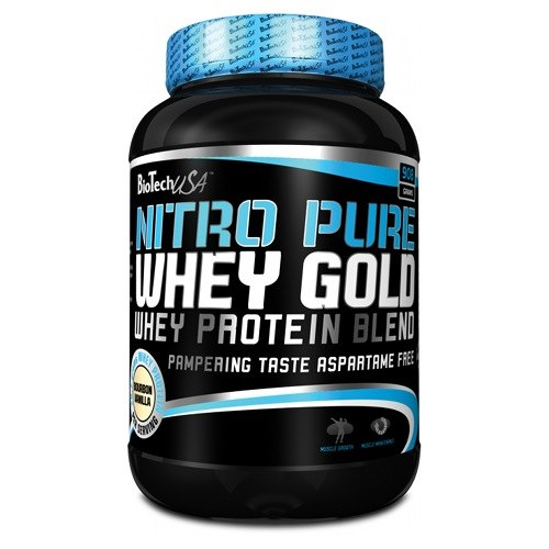 Nitro Pure Whey Gold 908 гр фото видео изображение
