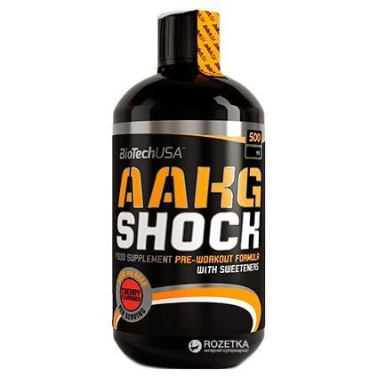 AAKG Shock Extreme 500 мл фото видео изображение