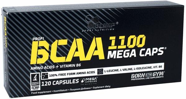 Bcaa Mega Caps 120 caps фото видео изображение