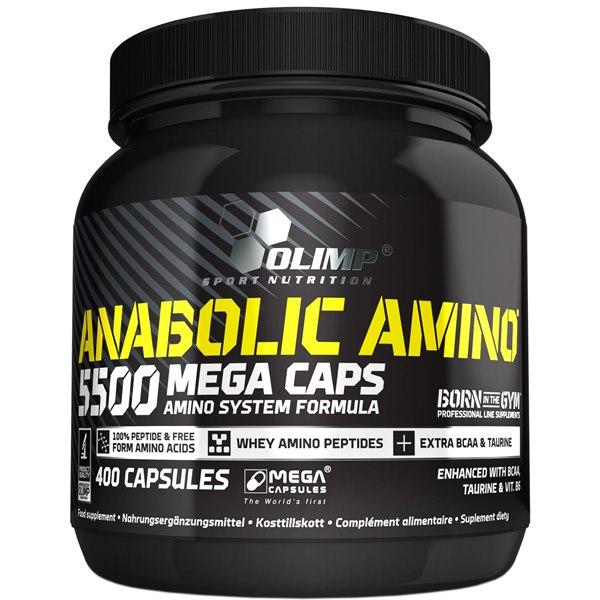 Anabolic Amino 5500 Mega Caps 400 Caps фото видео изображение