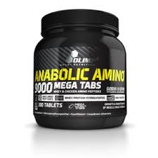 Anabolic Amino 9000 Mega tabs 300 табл фото видео изображение