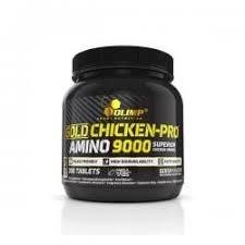 Gold Chicken pro amino 9000 mega tabs 300 табл фото видео изображение