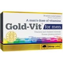 фото Gold-Vit men 30 табл видео отзывы