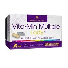 Vita-min Multiple Lady 40 табл фото видео изображение