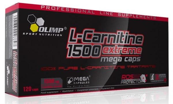 L-carnitine 1500 extreme mega caps 120 caps фото видео изображение
