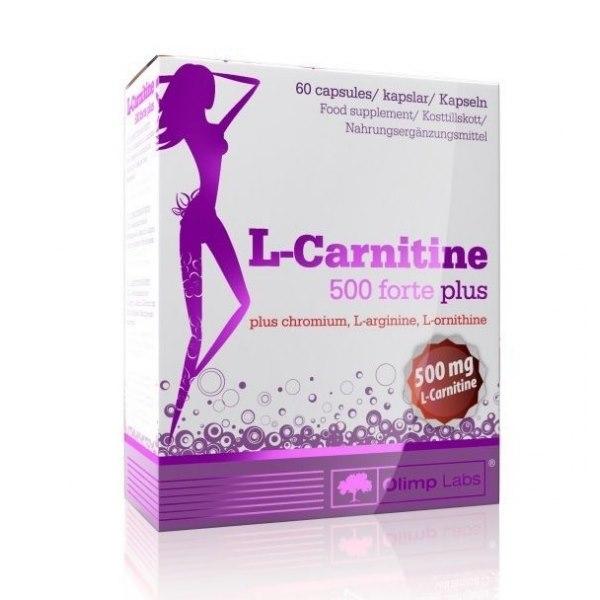 фото L-carnitine 500 Forte Plus 80 caps видео отзывы