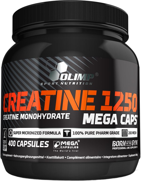 фото Creatine Mega Caps 1250 400 caps видео отзывы