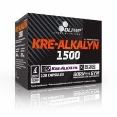 Kre-alkalyn 1500 Мг 120 caps фото видео изображение