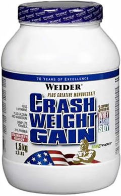 Crash Weight Gain 1,5 кг фото видео изображение