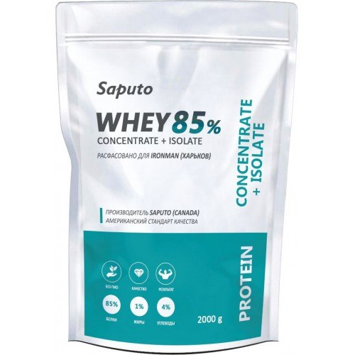 Whey Concentrate + Isolate 85% 900 гр фото видео изображение
