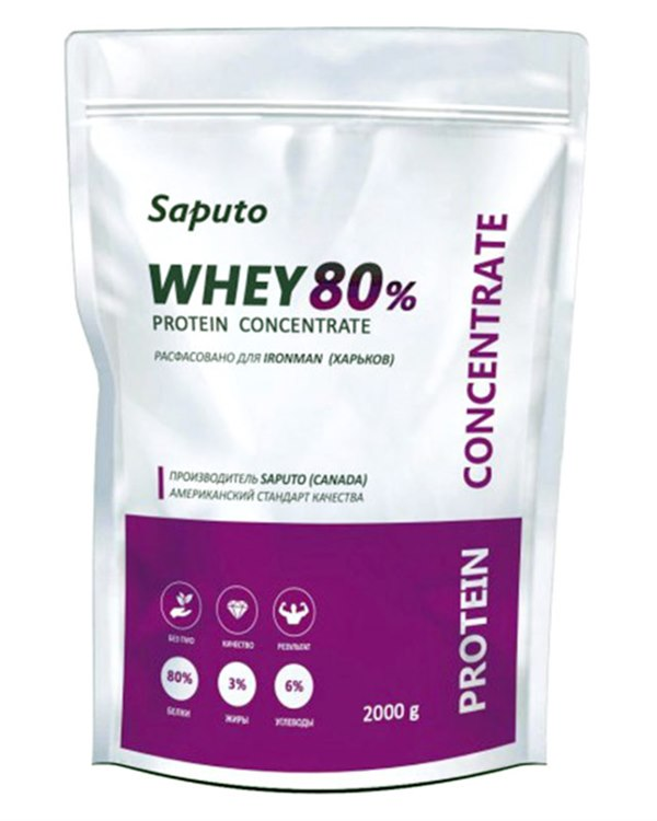 Цена Whey concentrate 80% 900 гр