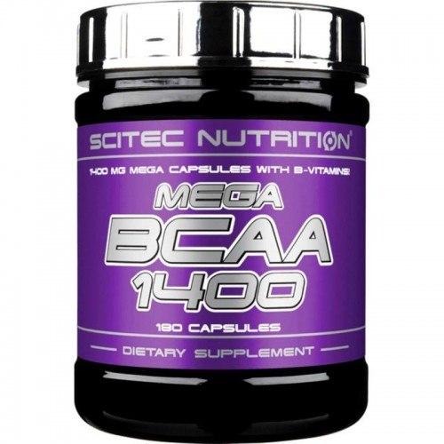 Купить Mega BCAA 1400 180 caps цена