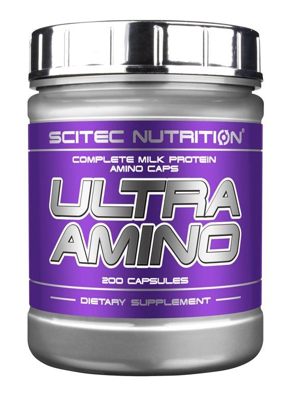 Ultra Amino 200 caps фото видео изображение