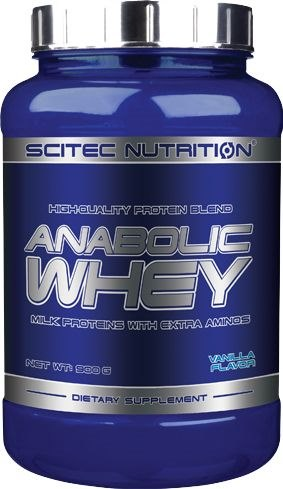 Anabolic Whey 900 гр фото видео изображение