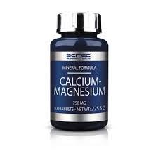 Scitec Essentials Calcium-magnesium 100 табл фото видео изображение