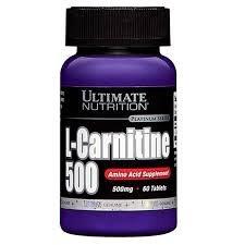 Купить L-carnitine 500 Mg (usp) 60 табл цена