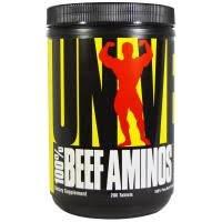 100% Beef Aminos 200 табл фото видео изображение
