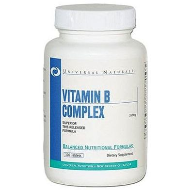 фото Vitamin B Complex 100 табл отзывы