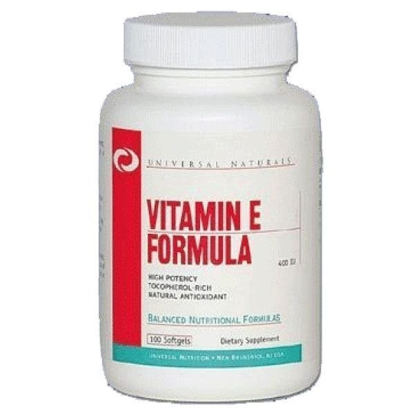Купить Vitamin E Formula (400iu) 100 softgels цена