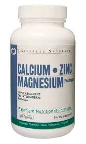 Купить Calcium Zinc Magnesium 100 табл цена