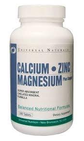 Calcium Zinc Magnesium 100 табл фото видео изображение