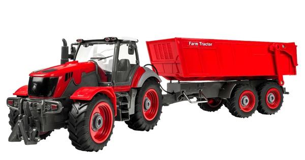 Трактор р/у 1:28 Farm Tractor с прицепом